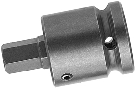 APEX SZ-5-7-10MM 10mm Socket Head Bit, 1/2'' Square Drive
