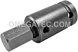 SZ-5-7-14MM 1/2'' Metric Socket Head Bit, Apex Brand