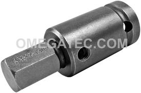 APEX SZ-5-7-14MM 14mm Socket Head Bit, 1/2'' Square Drive