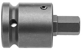 APEX SZ-5-7-4MM 4mm Socket Head Metric Bits With Drive Adapters, 1/2'' Drive