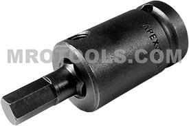 APEX SZ-5-7-8MM 8mm Socket Head Bit, 1/2'' Square Drive