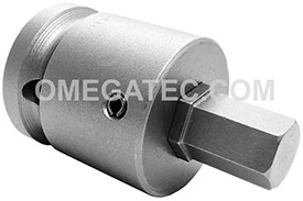 APEX SZ-7-10-10MM 10mm Socket Head Metric Bits With Drive Adapters, 3/4'' Drive