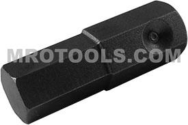 SZ-7-10MM 1/2'' Metric Socket Head Bit, Apex Brand