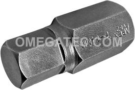 APEX SZ-7-14MM 14mm Socket Head Bit, 1/2'' Square Drive