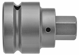 SZ-8-14-17MM 1'' Apex Brand Socket Head (Hex-Allen) Bits With Drive Adapters, Metric