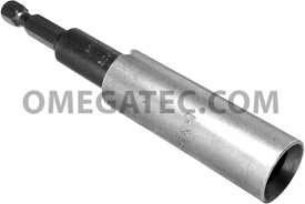 APEX T-320X Slotted Power Drive Bits, 1/4'' Hex Drive With Finder Sleeve