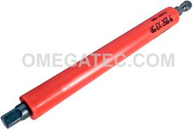 APEX UG-EX-250-6 1/4'' u-Guard Extension, 1/4'' Hex Power Drive