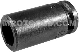ZA-110 1/4'' Apex Brand Straight Grease Fitting Socket