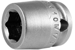 APEX 10MM03 10mm Short Impact Socket, 3/8'' Square Drive