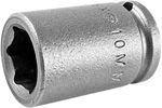 APEX 10MM11 10mm Standard Impact Socket, 1/4'' Square Drive