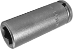 APEX 10MM21 10mm Long Impact Socket, 1/4'' Square Drive