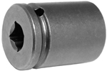 1116 Apex 1/2'' Standard Socket, 1/4'' Square Drive