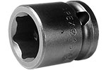 APEX 13MM03 13mm Short Impact Socket, 3/8'' Square Drive