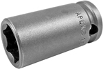 APEX 13MM43 13mm Standard Impact Socket, Thin Wall, 3/8'' Square Drive