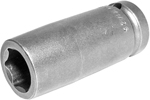 APEX 14MM25 14mm Long Impact Socket, 1/2'' Square Drive