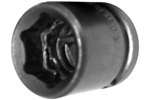 APEX 15MM03 15mm Short Impact Socket, 3/8'' Square Drive
