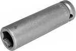 APEX 15MM35 15mm Extra Long Impact Socket, 1/2'' Square Drive