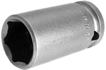 15MM43 Apex 15mm Metric Thin Wall Standard Socket, 3/8'' Square Drive