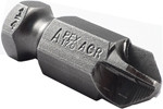 170-1/4-ACR 7/16'' Apex Brand Torq-Set 1/4'' Power Drive Bits With ACR