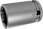 APEX 17MM43 17mm Standard Impact Socket, Thin Wall, 3/8'' Square Drive