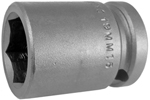 APEX 19MM15 19mm Standard Impact Socket, 1/2'' Square Drive
