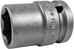 APEX 19MM45 19mm Standard Impact Socket, Thin Wall, 1/2'' Square Drive