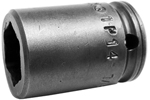 APEX 1P14 7/16'' Impact Socket, Magnetic, For Sheet Metal Screw, Self-Drilling And Tapping Screws, 1/4'' Square Drive
