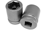 APEX 21MM15 21mm Standard Impact Socket, 1/2'' Square Drive