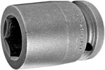 APEX 21MM17 21mm Standard Impact Socket, 3/4'' Square Drive