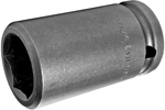 APEX 21MM25 21mm Long Impact Socket, 1/2'' Square Drive