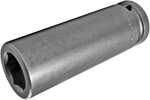 21MM57 Apex 21mm Thin Wall Metric Extra Long Socket, 3/4'' Square Drive