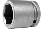 APEX 24MM15 24mm Standard Impact Socket, 1/2'' Square Drive