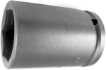 APEX 32MM25 32mm Long Impact Socket, 1/2'' Square Drive