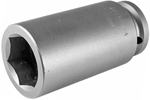 APEX 33MM37 33mm Extra Long Impact Socket, 3/4'' Square Drive