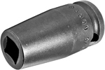 3609 Apex 9/32'' Single Square Nut Standard Socket, 3/8'' Square Drive