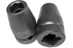 APEX 5114 7/16'' Standard Impact Socket, 1/2'' Square Drive