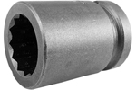 5122-D Apex 11/16'' 12-Point Standard Socket, 1/2'' Square Drive