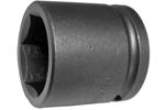 APEX 5136 1 1/8'' Standard Impact Socket, 1/2'' Square Drive