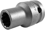 APEX 5414-D 7/16'' Standard Impact Socket, Thin Wall, 1/2'' Square Drive