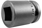5618 Apex 9/16'' Standard Socket, For Single Square Nuts, 1/2'' Square Drive
