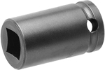 APEX 5912-D 3/8'' Standard Impact Socket, Thin Wall, For Double Square Nuts, 1/2'' Square Drive