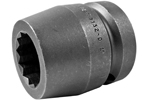 8132-D Apex 1'' 12-Point Standard Socket, 1'' Square Drive