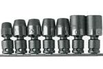 APU37M 3/8'' Apex Brand 7 Piece Universal Wrench Set, Standard, Metric