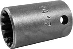 CMS-1412 Apex #12 Standard Spline Socket, 1/4'' Square Drive