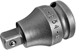 APEX EX-254-B Straight Adapter, 3/8'' Square Drive, Ball Lock