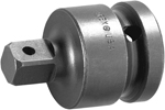 APEX EX-258-4 Straight Adapter, 1/2'' Square Drive, Pin Lock