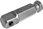 APEX EX-371 7/16'' Hex Power Drive Socket Extension, 3/8'' Male Square