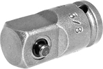 APEX EX-372 Straight Adapter, 1/4'' Square Drive, Pin Lock