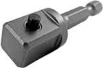 APEX EX-500-2 1/4'' Hex Power Drive Socket Extension, 1/2'' Male Square