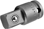 APEX EX-503-B Straight Adapter, 3/8'' Square Drive, Ball Lock